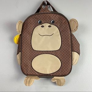 Thirty-One Monkey Lunch Bag Brown